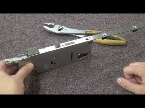 How to Rehand a HOPPE Multipoint Lock