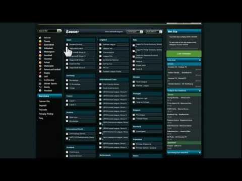 SB Betting Software: Customers website