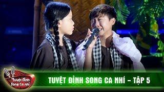 Rơi nước mắt với 'Sa mưa giông' của Đức Vĩnh, Quỳnh Anh | Tuyệt đỉnh song ca nhí tập 5
