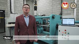 Parker Supports Lublin University to Develop Rolling Mill Technology - Polish video