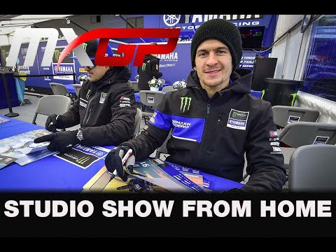 Live Studio Show with Jeremy Seewer - Monster Energy MXGP Team