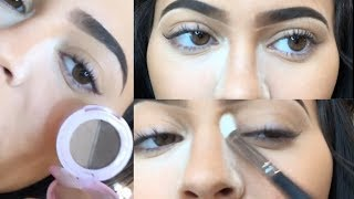 Kylie Jenner Eyebrows Tutorial Using Kylie Cosmetics