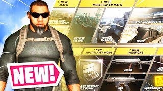 NEW SEASON 5 in WARZONE! 😱 STADIUM is INSANE! (Modern Warfare Warzone)