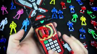 Power Rangers Legendary Morpher and Gokaiger Mobirates Comparison!