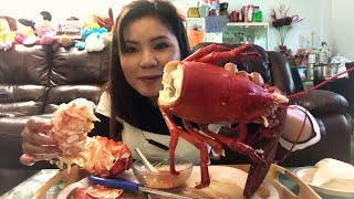 Cuộc sống Canada _Ăn Tôm Hùm Canada khổng lô ( eating Giant Canada's Lobster)