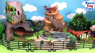 Dinosaurs Toys Park Fun Toys For Kids - Learn Dino Names Video