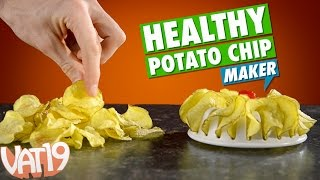 DIY Healthy Potato Chips