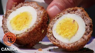 Who Cooked The Best Scotch Egg? | MasterChef Canada | MasterChef World