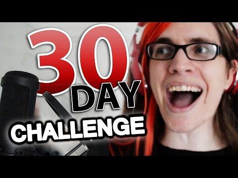 I learn how to sing for 30 days.