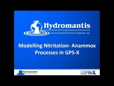 Webinar: Modelling Nitritation and Anammox Processes in GPS-X