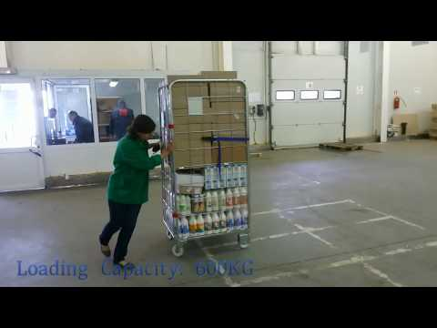 600kg Loading Logistics Roll Container - HMLWires