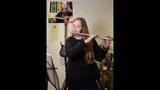 Shy Away - Twenty One Pilots Flute And Ukulele Cover [SCALED AND ICY]