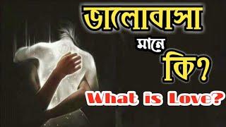 ভালোবাসা মানে কি | Valobasa Mane Ki | What is Love |Heart Touching Love Motivational Video in Bangla