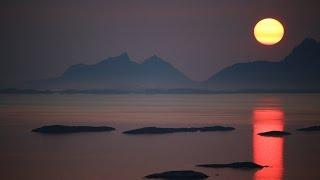 Midnight Sun Timelapse in Bodø, Norway