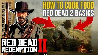 How to Cook Food in Red Dead Redemption 2 | RDR2 Basics | Red Dead Redemption 2 food crafting