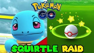 SQUIRTLE RAID IN POKEMON GO - POKEMON GO NEW RAIDS