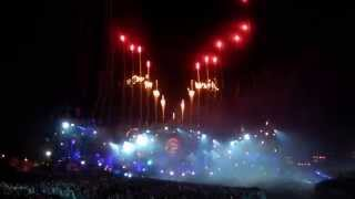 Alesso - If I lose Myself / Heroes / Under Control with amazing fireworks @ Tomorrowland 2014