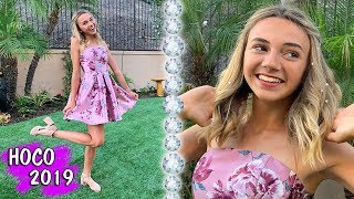 GRWM Kayla's First Homecoming Dance with Blinger! | Kayla Davis