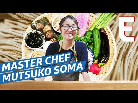 Handmade Soba Noodles by Master Chef Mutsuko Soma — Omakase