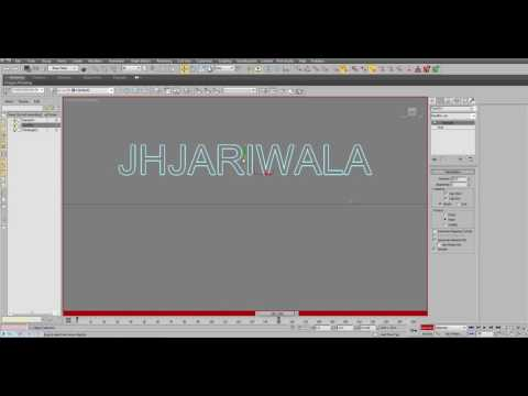 Object emerging from Sea Tutorial with thinkingParticles by Jignesh Jariwala