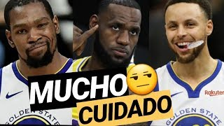 LEBRON James PREOCUPADO con los FICHAJES de LAKERS 😨 DURANT Y CURRY | Lakers en español | NBA