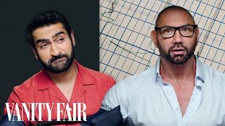 Dave Bautista and Kumail Nanjiani Take a Lie Detector Test | Vanity Fair