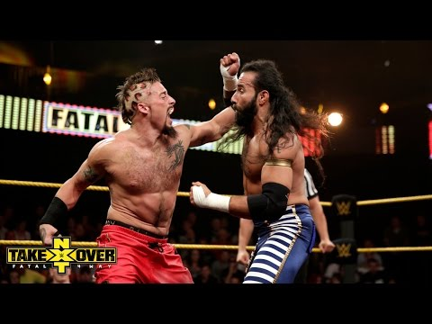 Enzo Amore vs Sylvester Lefort - NXT TakeOver