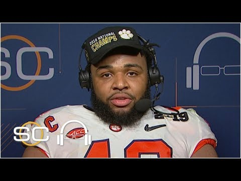 Clemson's Christian Wilkins: 'No team was more deserving than us' | SC with SVP
