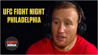 Justin Gaethje after KO win: 'Really hard' to control my emotions | UFC Fight Night | ESPN MMA
