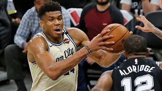 Milwaukee Bucks vs San Antonio Spurs Full Game Highlights | January 6, 2019-20 NBA Season