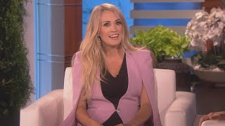 Carrie Underwood Plays Coy as Ellen DeGeneres Guesses the Gender of Baby No.2