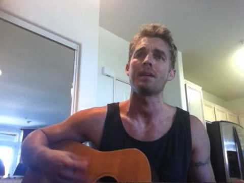 Gavin DeGraw -Not Over You (Cover by Brett Young)