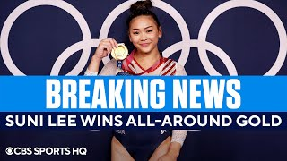 Team USA's Suni Lee Wins Gold in the Gymnastics All-Around | CBS Sports HQ