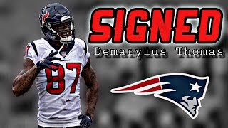 Patriots Sign WR Demaryius Thomas