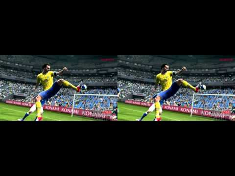 Pro Evolution Soccer 2013 in 3D