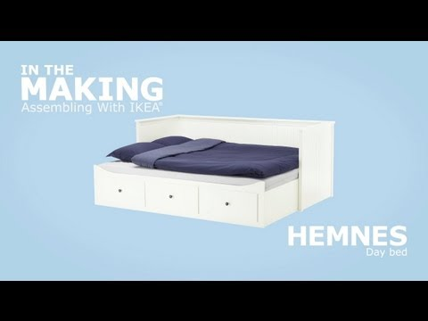 Ikea Hemnes Daybed Assembly Instructions Youtube