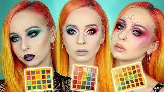 Je teste 3 palettes RAINBOW (OPV, September Rose, Rude Cosmetics) | BATTLE