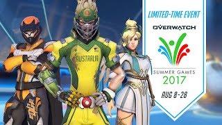 Overwatch Seasonal Event | Summer Games 2017 -