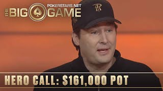 The Big Game S2 ♠️ E16 ♠️ Phil Hellmuth vs Loose Cannon: SICK HERO CALLS ♠️ PokerStars