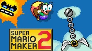 The Pressure is TOO INTENSE! // Endless Super Expert [#02] [SUPER MARIO MAKER 2]