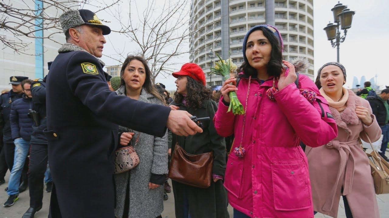 Баку: полиция сорвала акцию женщин против насилия