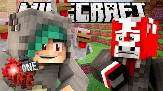 LOOK AT ALL THOSE CHICKENS! - One Life SMP Season 3 Minecraft SMP - Ep.11