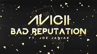 Avicii - Bad Reputation ft. Joe Janiak [Lyric Video]