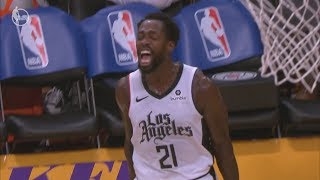 Beverley Blocks LeBron in the Clutch! 2019 NBA Christmas Clippers vs Lakers
