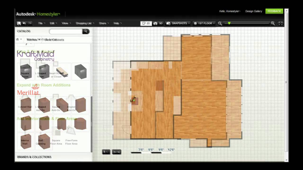 Autodesk homestyler furnish your design youtube for 3d homestyler