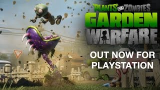 Plants vs. Zombies Garden Warfare - Official PlayStation Trailer