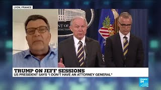 Is Donald Trump laying the groundwork to fire his Attorney General Jeff Sessions?