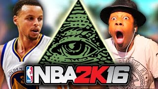 THE ILLUMINATI IN 2K?!? (NBA 2K16 MyPark)