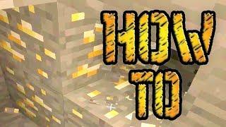 BEST Way To Find Gold in Minecraft!