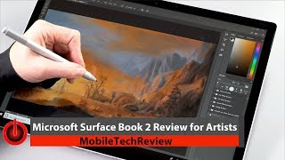 Surface Book 2 for Artists Review